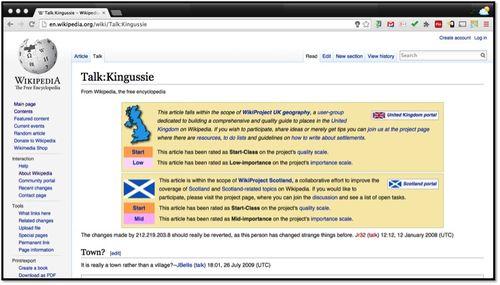 Wikipedia Talk Kingussie