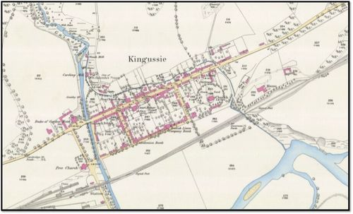 Kingussie Historical Map
