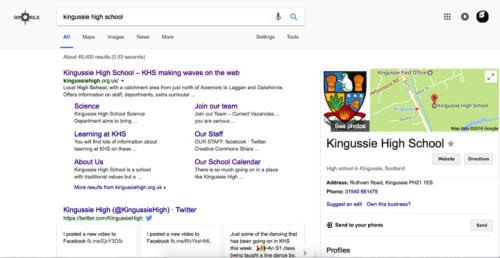 KHS on Google