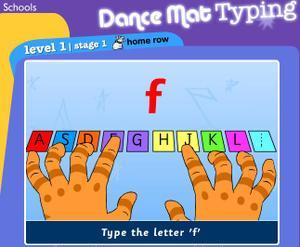 Dance_mat_typing
