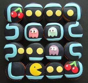 Pac_man_cakes